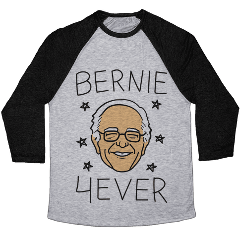 Bernie 4ever Baseball Tee