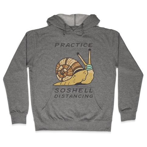 Practice SoShell Distancing Hooded Sweatshirt