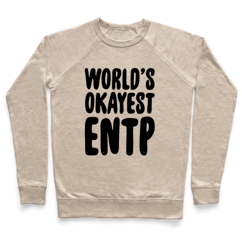 World's Okayest ENTP Pullover