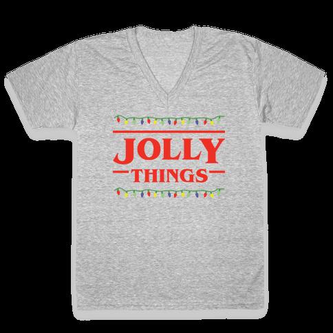 Jolly Things V-Neck Tee Shirt