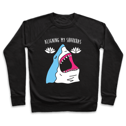 Aligning My Sharkras Pullover