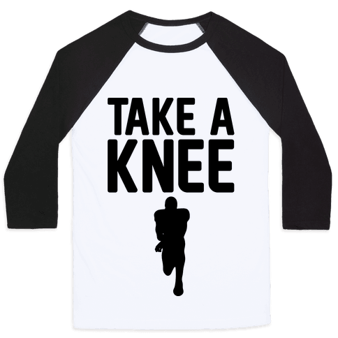 Take A Knee Baseball Tee