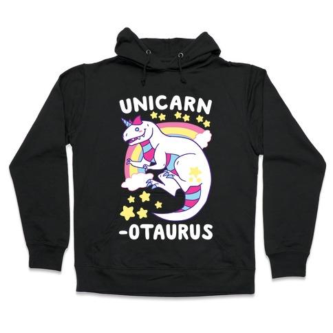 Unicarnotaurus - Unicorn Carnotaurus Hooded Sweatshirt