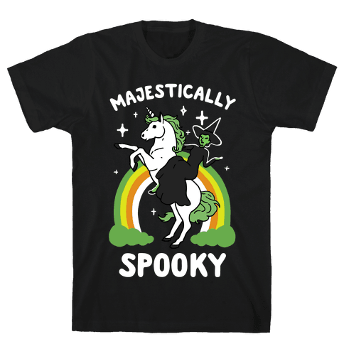 Majestically Spooky Mens T-Shirt
