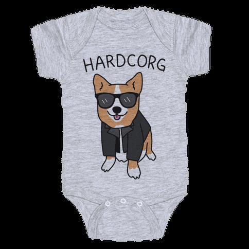 Hardcorg  Baby Onesy