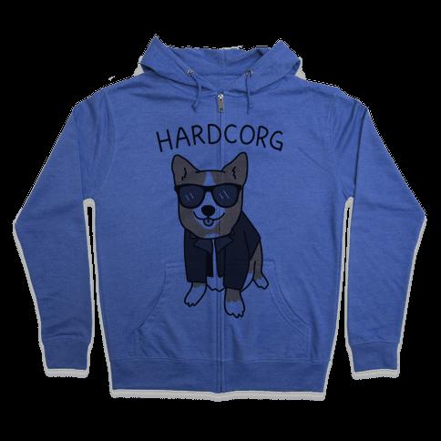 Hardcorg  Zip Hoodie