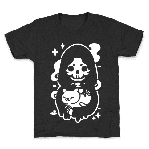 Death and Kitty Kids T-Shirt