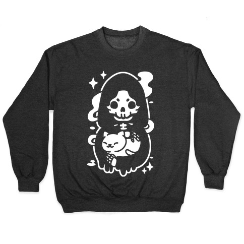 Death and Kitty Pullover