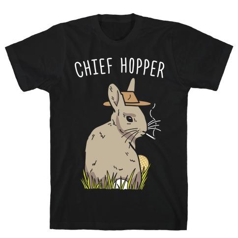 Chief Hopper Parody T-Shirt