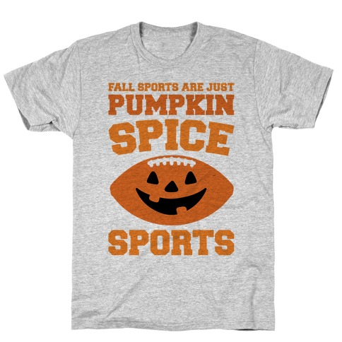 Pumpkin Spice Sports Parody T-Shirt