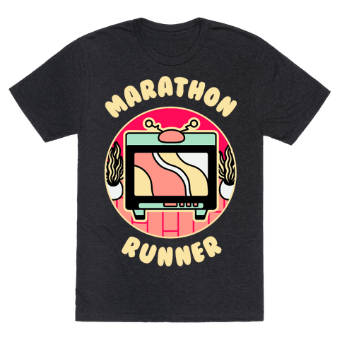 (TV) Marathon Runner  Mens/Unisex T-Shirt
