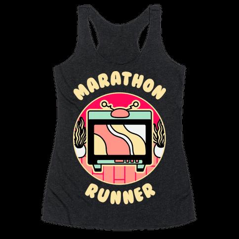 (TV) Marathon Runner Racerback Tank Top