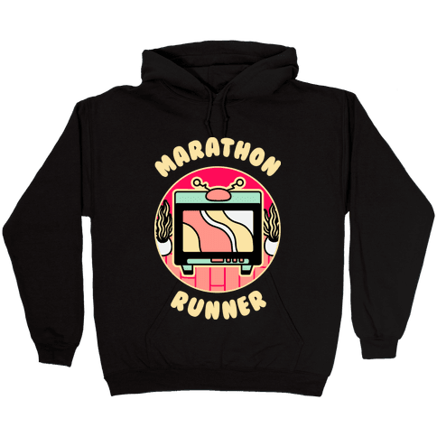 (TV) Marathon Runner Hooded Sweatshirt