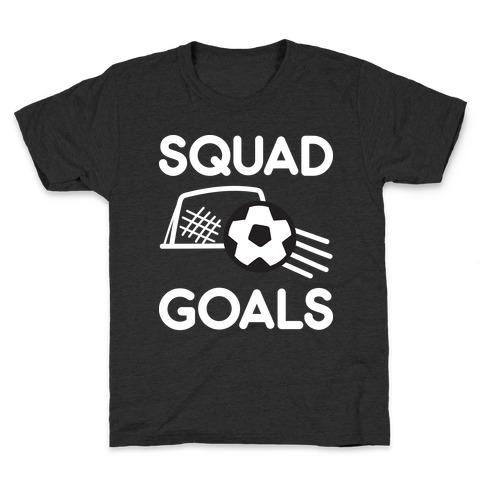 Squad Goals Soccer Kids T-Shirt
