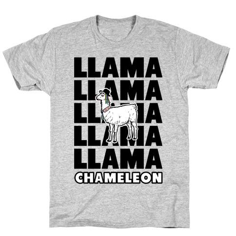 Llama Chameleon T-Shirt