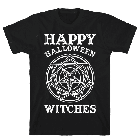 Happy Halloween Witches Mens T-Shirt