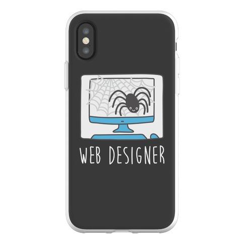 Web Designer Spider Phone Flexi-Case