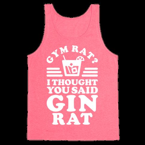 Gin Rat Tank Top