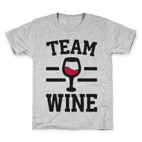 Team Wine Kids T-Shirt
