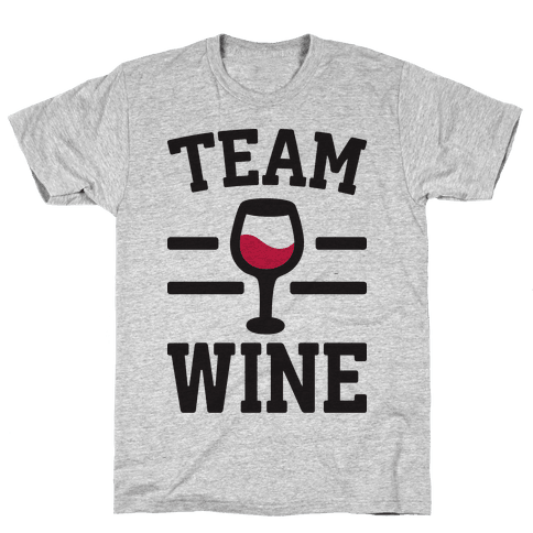 Team Wine Mens T-Shirt
