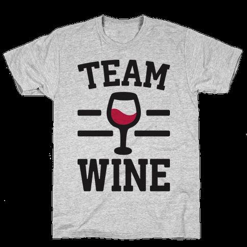 Team Wine Mens T-Shirt
