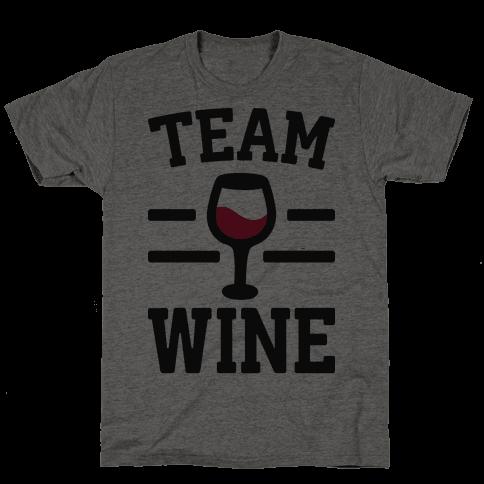 Team Wine Mens/Unisex T-Shirt