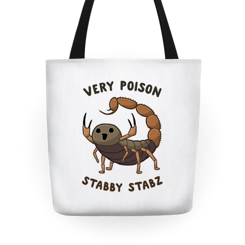 Very Poison Stabby Stabz Tote
