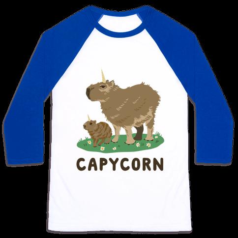 Capycorn Baseball Tee