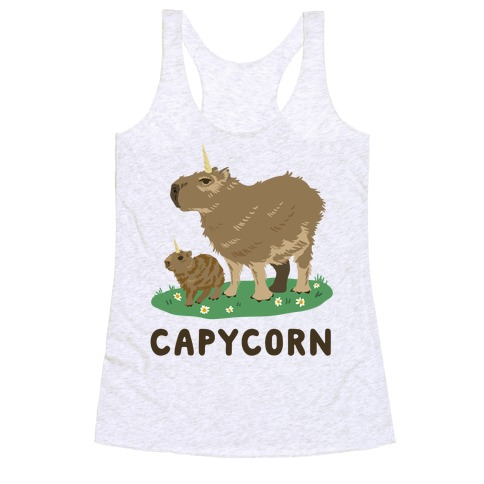 Capycorn Racerback Tank Top