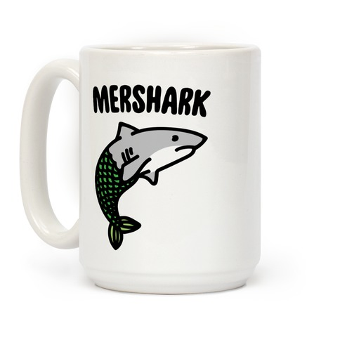 Mershark Parody Coffee Mug