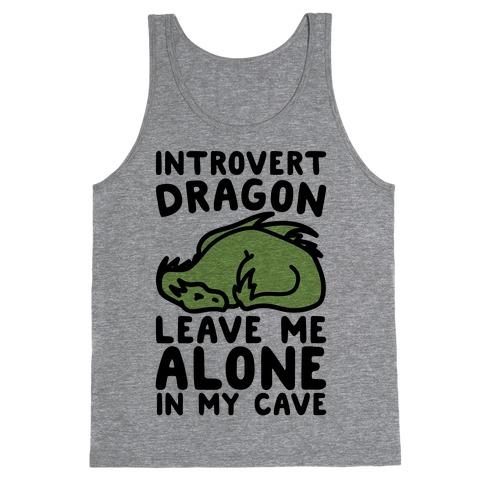 Introvert Dragon Tank Top
