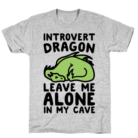 Introvert Dragon T-Shirt