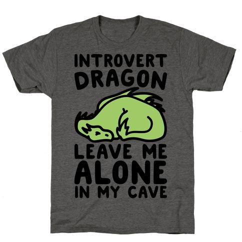 Introvert Dragon T-Shirt