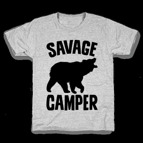 Savage Camper Kids T-Shirt