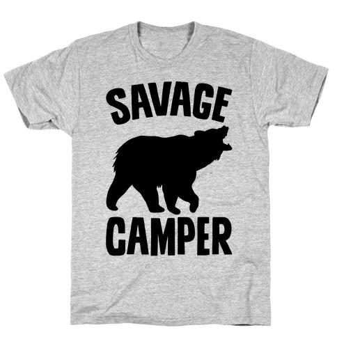 Savage Camper Mens T-Shirt