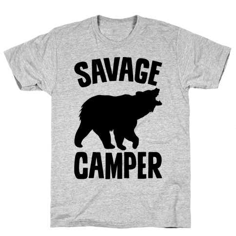 Savage Camper Mens T-Shirt