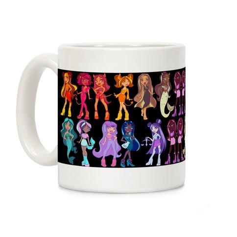 Zodiac Dollz Coffee Mug