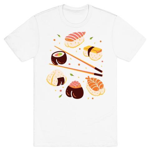 Subtle Sushi Booty T-Shirt