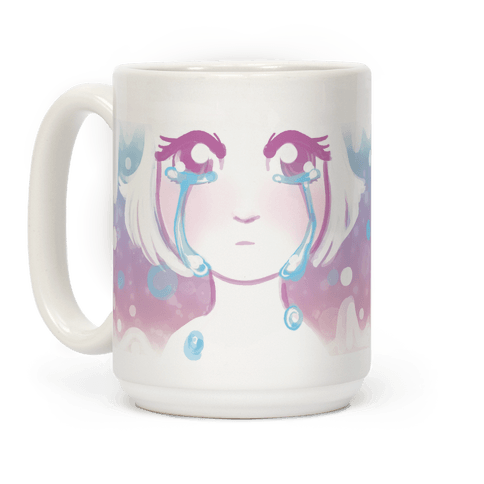 Anime Girl Tears  Coffee Mug