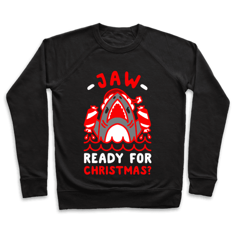 Jaw Ready For Christmas? Santa Shark Pullover