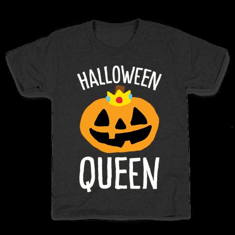 Halloween Queen Kids T-Shirt