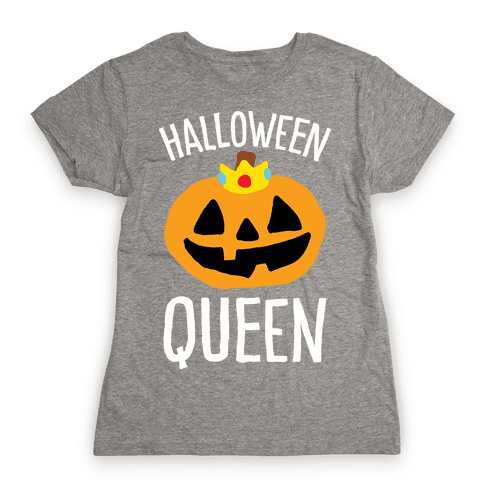 Halloween Queen Womens T-Shirt
