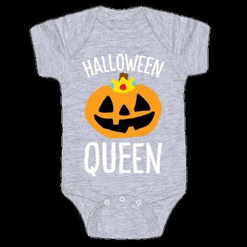 Halloween Queen Baby Onesy