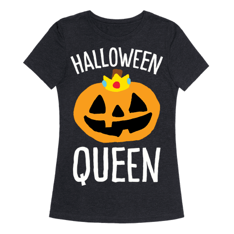 Halloween Queen Womens T-Shirt