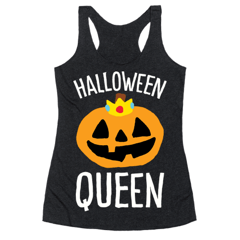 Halloween Queen Racerback Tank Top