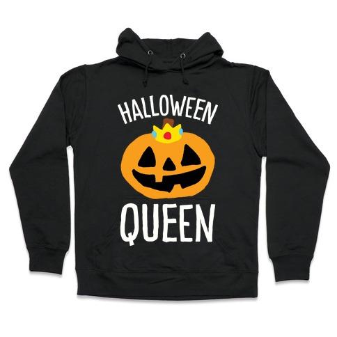 Halloween Queen Hooded Sweatshirt