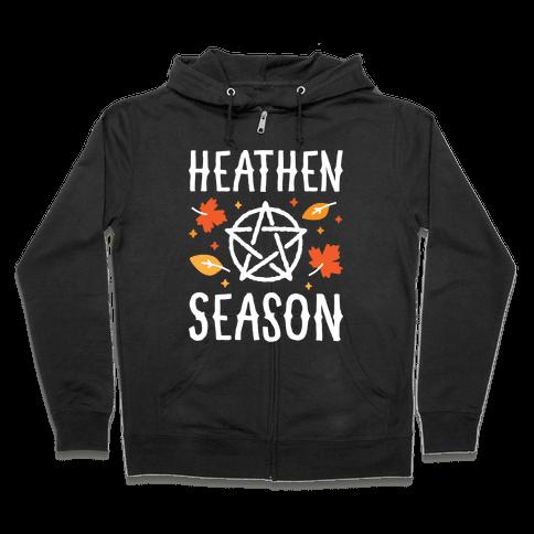 Heathen Season Zip Hoodie