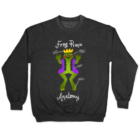 Frog Prince Anatomy Pullover