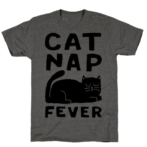 Cat Nap Fever T-Shirt