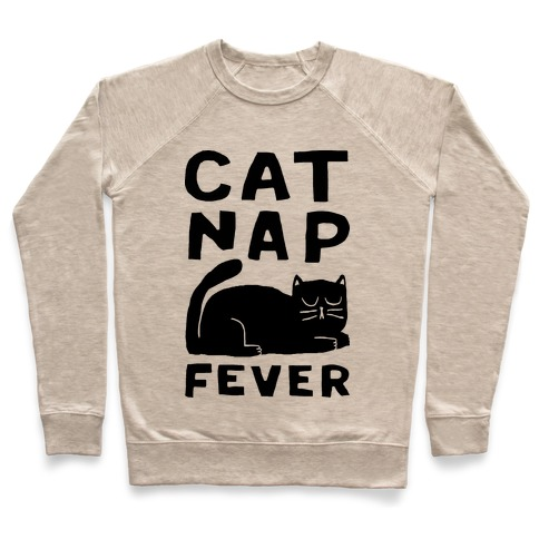 Cat Nap Fever Pullover